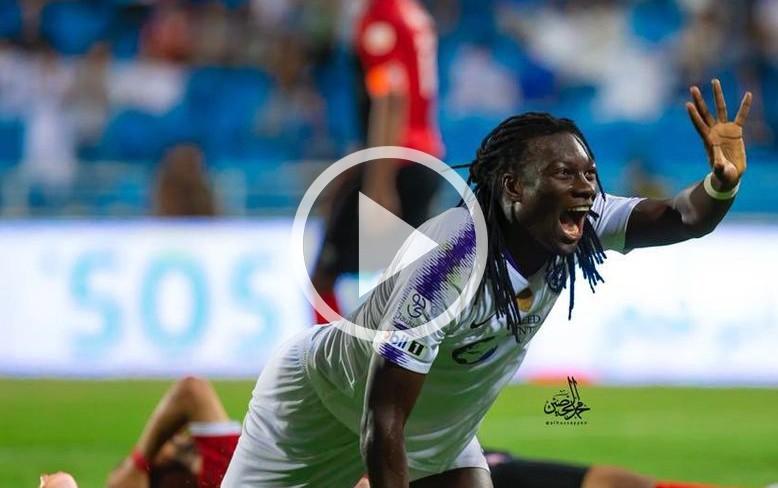Bafetimbi Gomis, Al Hilal formasıyla ilk golünü atmayı başardı