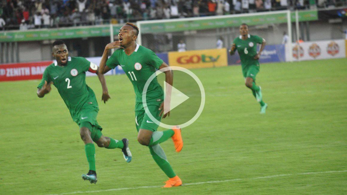Henry Onyekuru Nijerya milli takımı formasıyla harika bir gol attı